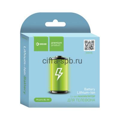 Аккумулятор BL-5C 1020mAh Dream купить оптом | cifra-spb.ru