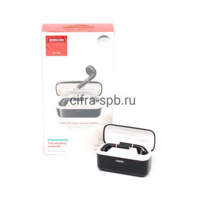 Беспроводные наушники JR-T06 с микрофоном черный Joyroom купить оптом | cifra-spb.ru