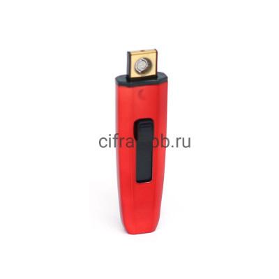 Зажигалка USB 278 красный купить оптом | cifra-spb.ru