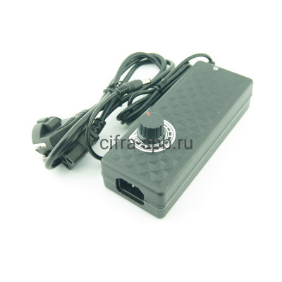 Адаптер 12-24V 5A 5,5 AC коричневая коробка купить оптом | cifra-spb.ru