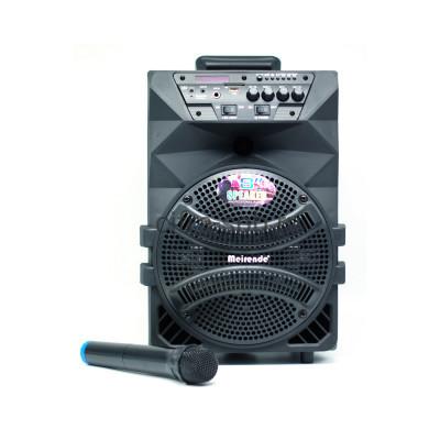 Беспроводная колонка MR-218A уличная +  беспроводной микрофон и пульт купить оптом | cifra-spb.ru