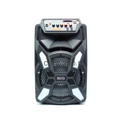 Беспроводная колонка ES-09S + беспроводной микрофон и пульт Feiyipu купить оптом | cifra-spb.ru
