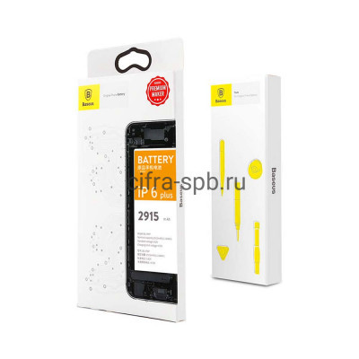 Аккумулятор для iPhone 6 Plus 2915 mAh ACCB-AIP6P Baseus купить оптом | cifra-spb.ru