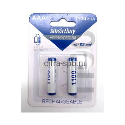 Батарейка аккумуляторная R03 SBBR-3A02BL1100 1100mAh Smartbuy 2шт (цена за ед.) купить оптом | cifra-spb.ru