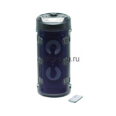 Беспроводная колонка ZQS-4210 + пульт черно-синий купить оптом | cifra-spb.ru