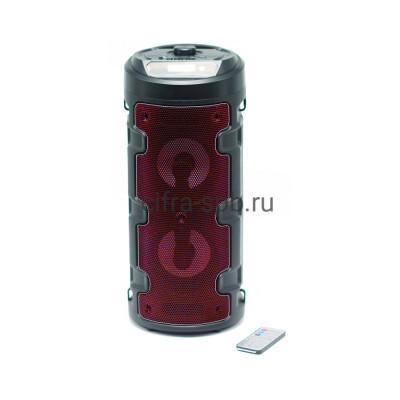 Беспроводная колонка ZQS-4210 + пульт черно-красный купить оптом   cifra-spb.ru