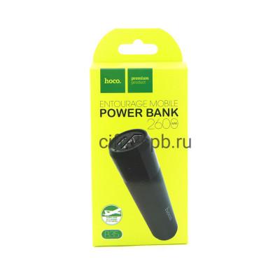 Power Bank 2600mAh B35 черный Hoco купить оптом | cifra-spb.ru
