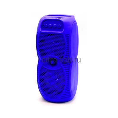 Беспроводная колонка ZQS-4231 + пульт синий купить оптом | cifra-spb.ru