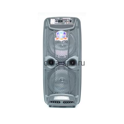 Беспроводная колонка LT-2803 + беспроводной микрофон черный купить оптом | cifra-spb.ru
