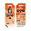 OTG USB на Micro USB BV2 3.0A серебро Borofone