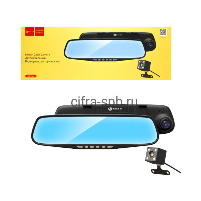 Видеорегистратор M069 в зеркало черный Dream купить оптом | cifra-spb.ru