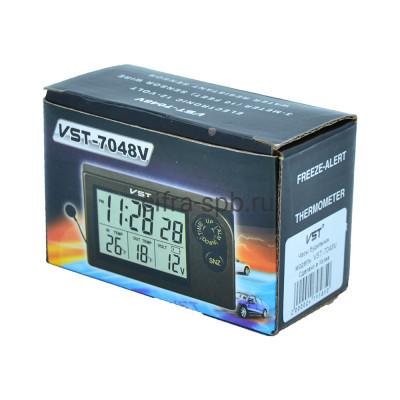 Автомобильные часы VST-7048V купить оптом   cifra-spb.ru