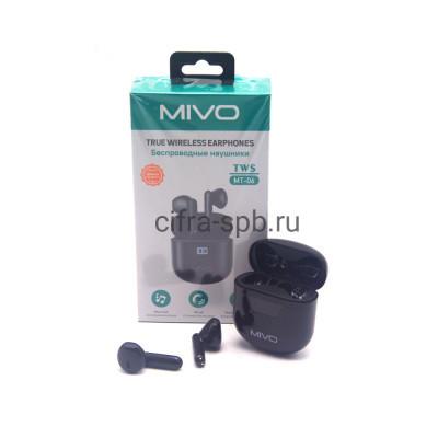 Беспроводные наушники TWS MT-06 черный Mivo купить оптом | cifra-spb.ru