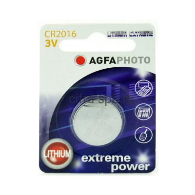 Батарейка CR2016 AGFAPHOTO 1шт. купить оптом   cifra-spb.ru