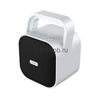 Беспроводная колонка RB-M49 белый Remax купить оптом | cifra-spb.ru