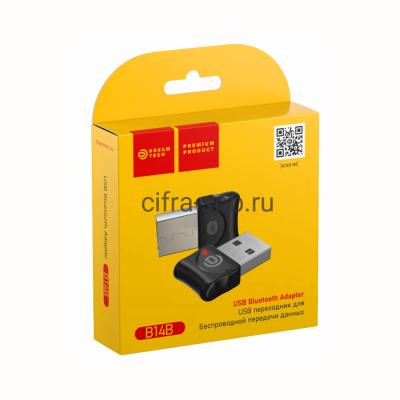 Адаптер Bluetooth B14B (BT4.0 3Mbit/S) черный Dream купить оптом   cifra-spb.ru