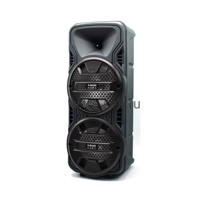 Беспроводная колонка DG-1089 + проводной микрофон + пульт черный купить оптом   cifra-spb.ru