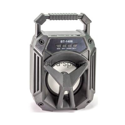Беспроводная колонка BT-1406BT черный купить оптом | cifra-spb.ru