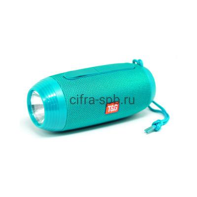 Беспроводная колонка TG-602 + фонарь бирюзовый T&G купить оптом | cifra-spb.ru