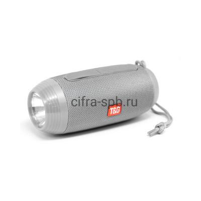 Беспроводная колонка TG-602 + фонарь серый T&G купить оптом   cifra-spb.ru