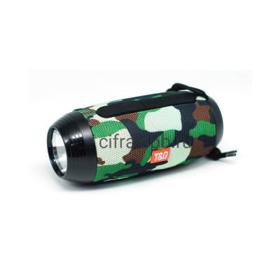 Беспроводная колонка TG-602 + фонарь камуфляж T&G купить оптом | cifra-spb.ru