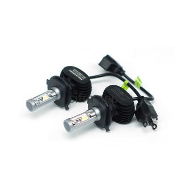 LED-лампа головного света Н4 БИ ZES LED 5500K чип PH(радиатор) С-три купить оптом | cifra-spb.ru