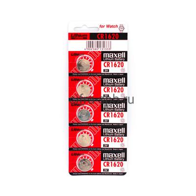 Батарейки CR1620 Maxell 5шт на блистере (цена за 1ед.) купить оптом | cifra-spb.ru