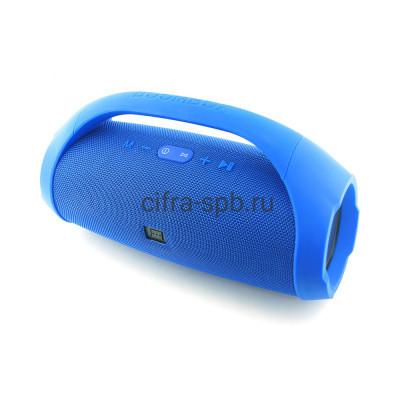 Беспроводная колонка BoomBox K-860 (34см) синий купить оптом | cifra-spb.ru
