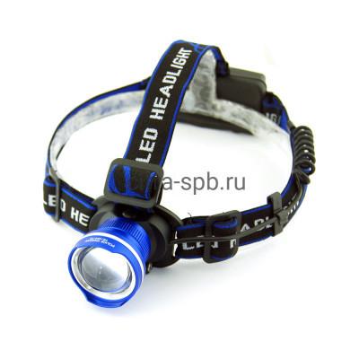 Фонарь налобный аккум. HL-024-T6 ( BL-T07-T6 ) (FA-XQ24-T6) Zoom 2акб 18650 купить оптом | cifra-spb.ru