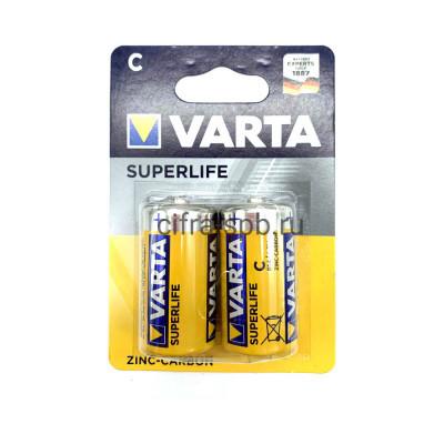 Батарейка R14 SUPERLIFE Varta 2шт. (цена за ед.) купить оптом   cifra-spb.ru