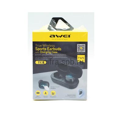 Беспроводные наушники T13 с микрофоном черный Awei купить оптом | cifra-spb.ru