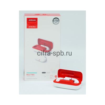 Беспроводные наушники JR-T06 Mini с микрофоном + кабель Type-C белый Joyroom купить оптом | cifra-spb.ru