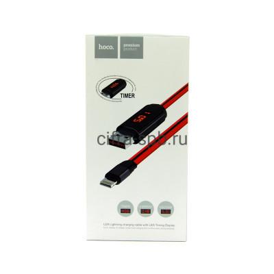 Кабель Lightning U29 красный Hoco 1m купить оптом | cifra-spb.ru