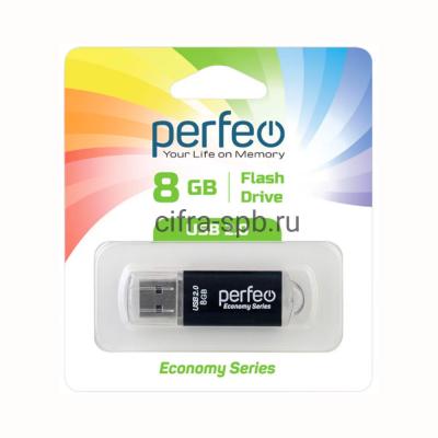 USB накопитель 8GB E01 Black economy series Perfeo купить оптом | cifra-spb.ru
