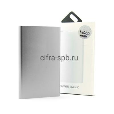 Power Bank 12000mAh UD-15 серебро купить оптом   cifra-spb.ru