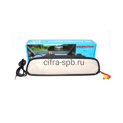 Зеркало монитор заднего вида 4.3S купить оптом   cifra-spb.ru