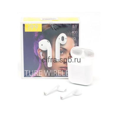 Беспроводные наушники i99 c микрофоном и с беспроводной зарядкой белый купить оптом | cifra-spb.ru