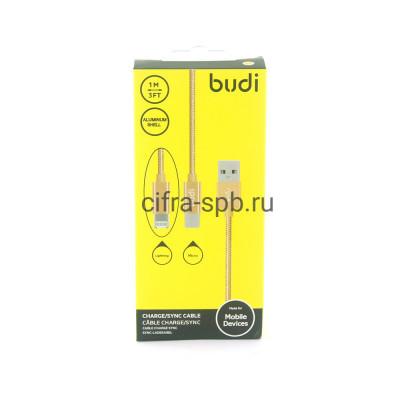 Кабель Lightning-Micro 2в1 M8J175 2А золото BUDI 1m купить оптом | cifra-spb.ru