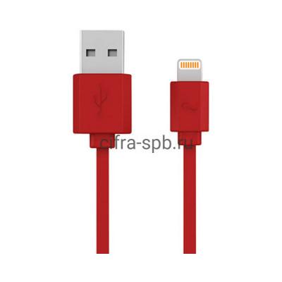 Кабель Lightning Data Line Red купить оптом | cifra-spb.ru