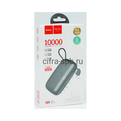 Power Bank 10000mAh S29 + кабель Micro черный Hoco купить оптом | cifra-spb.ru