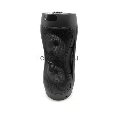 Беспроводная колонка JBK-6507S + проводной микрофон + пульт черный купить оптом   cifra-spb.ru