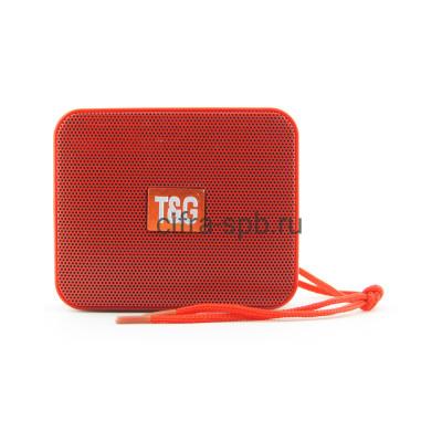 Беспроводная колонка TG-166 красный T&G купить оптом | cifra-spb.ru