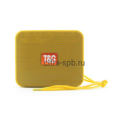 Беспроводная колонка TG-166 желтый T&G купить оптом | cifra-spb.ru