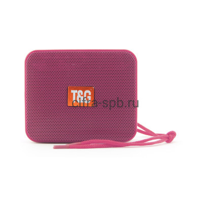 Беспроводная колонка TG-166 розовый T&G купить оптом | cifra-spb.ru