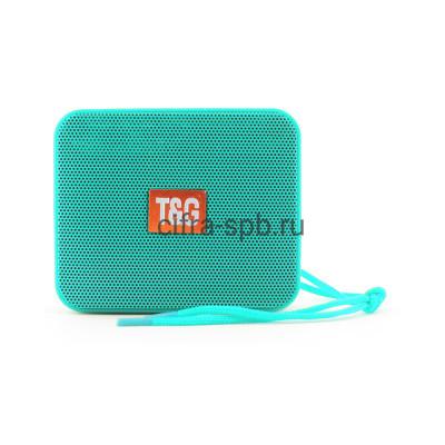 Беспроводная колонка TG-166 бирюзовый T&G купить оптом   cifra-spb.ru