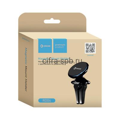 Держатель для телефона RD04 магнитный черный Dream купить оптом | cifra-spb.ru