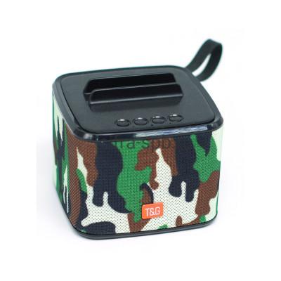 Беспроводная колонка TG-801 камуфляж T&G купить оптом | cifra-spb.ru