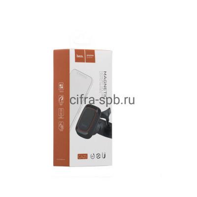 Держатель для телефона CA25 в дисковод магнитный черный Hoco купить оптом   cifra-spb.ru