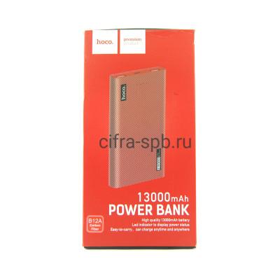Power Bank 13000mAh B12A красный Hoco купить оптом | cifra-spb.ru