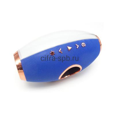 Беспроводная колонка F1 синий с подсветкой купить оптом | cifra-spb.ru